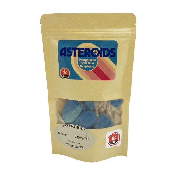 Zeta Asteroids - Sour Blue Raspberry