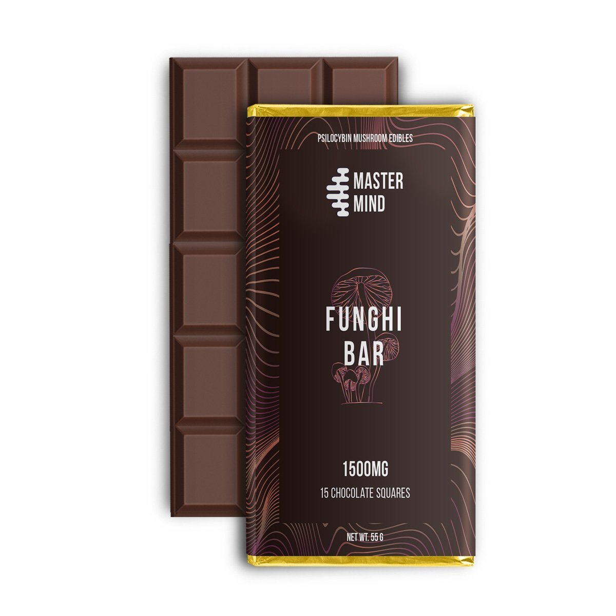 Master Mind - Funghi Bar 1500 Mg