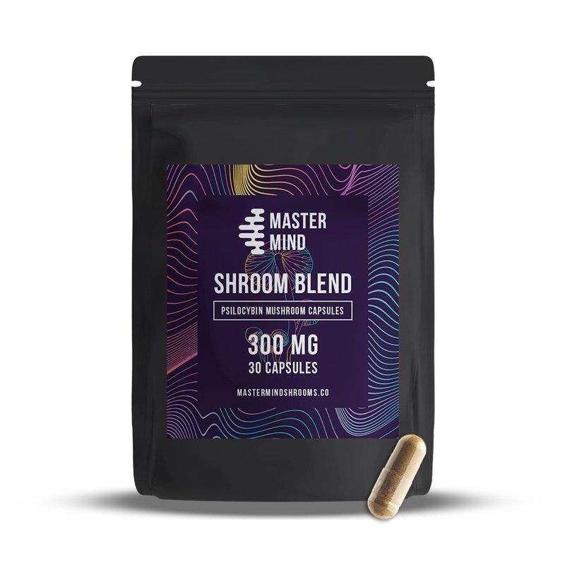 Master Mind - Psilocybin Mushroom Capsules 30 x 300 Mg