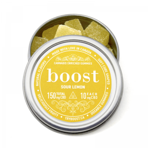 Boost CBD Sour Lemon
