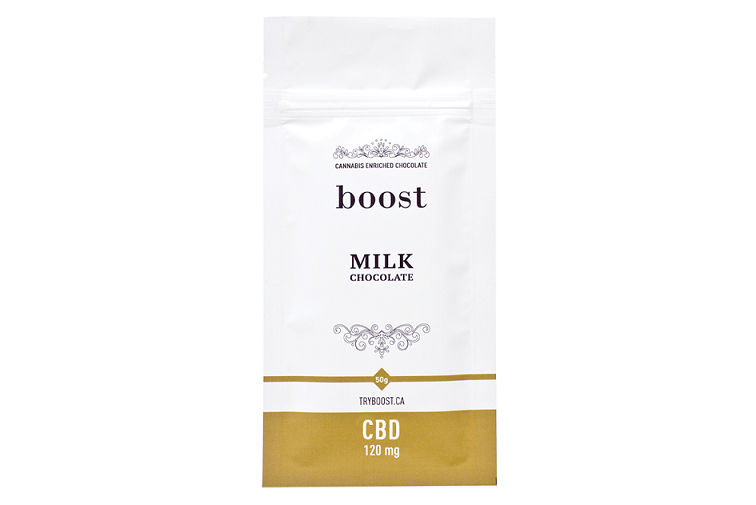 Boost CBD Milk Chocolate 120mg