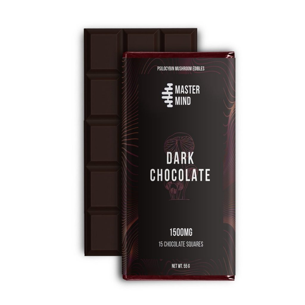 Master Mind – Dark Chocolate Bar 1500 Mg