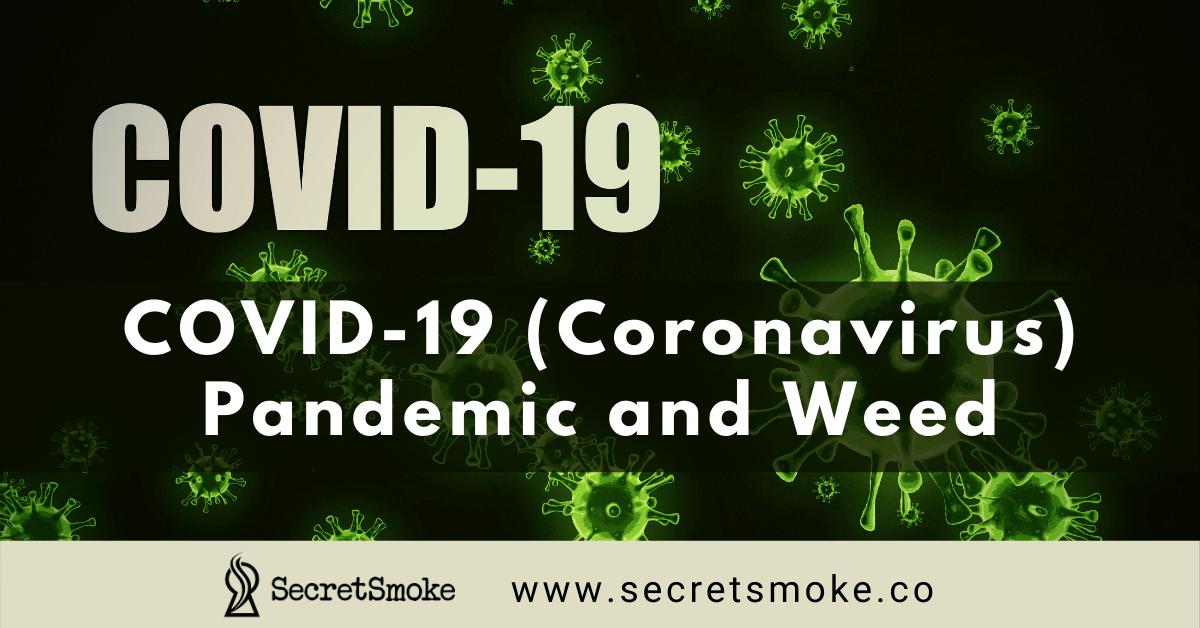COVID-19 Coronavirus Pandemic and Weed